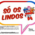 Plaquinhas Divertidas Super Wings 22