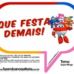 Plaquinhas Divertidas Super Wings 23