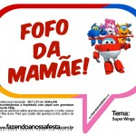 Plaquinhas Divertidas Super Wings 25
