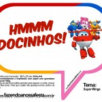 Plaquinhas Divertidas Super Wings 27