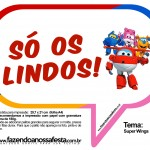Plaquinhas Divertidas Super Wings 28