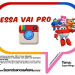 Plaquinhas Divertidas Super Wings 29