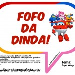 Plaquinhas Divertidas Super Wings 30