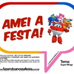 Plaquinhas Divertidas Super Wings 32