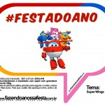 Plaquinhas Divertidas Super Wings 33