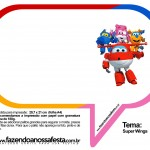Plaquinhas Divertidas Super Wings 36