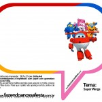 Plaquinhas Divertidas Super Wings 37