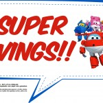 Plaquinhas Divertidas Super Wings 5