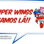 Plaquinhas Divertidas Super Wings 6