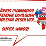 Plaquinhas Divertidas Super Wings 7