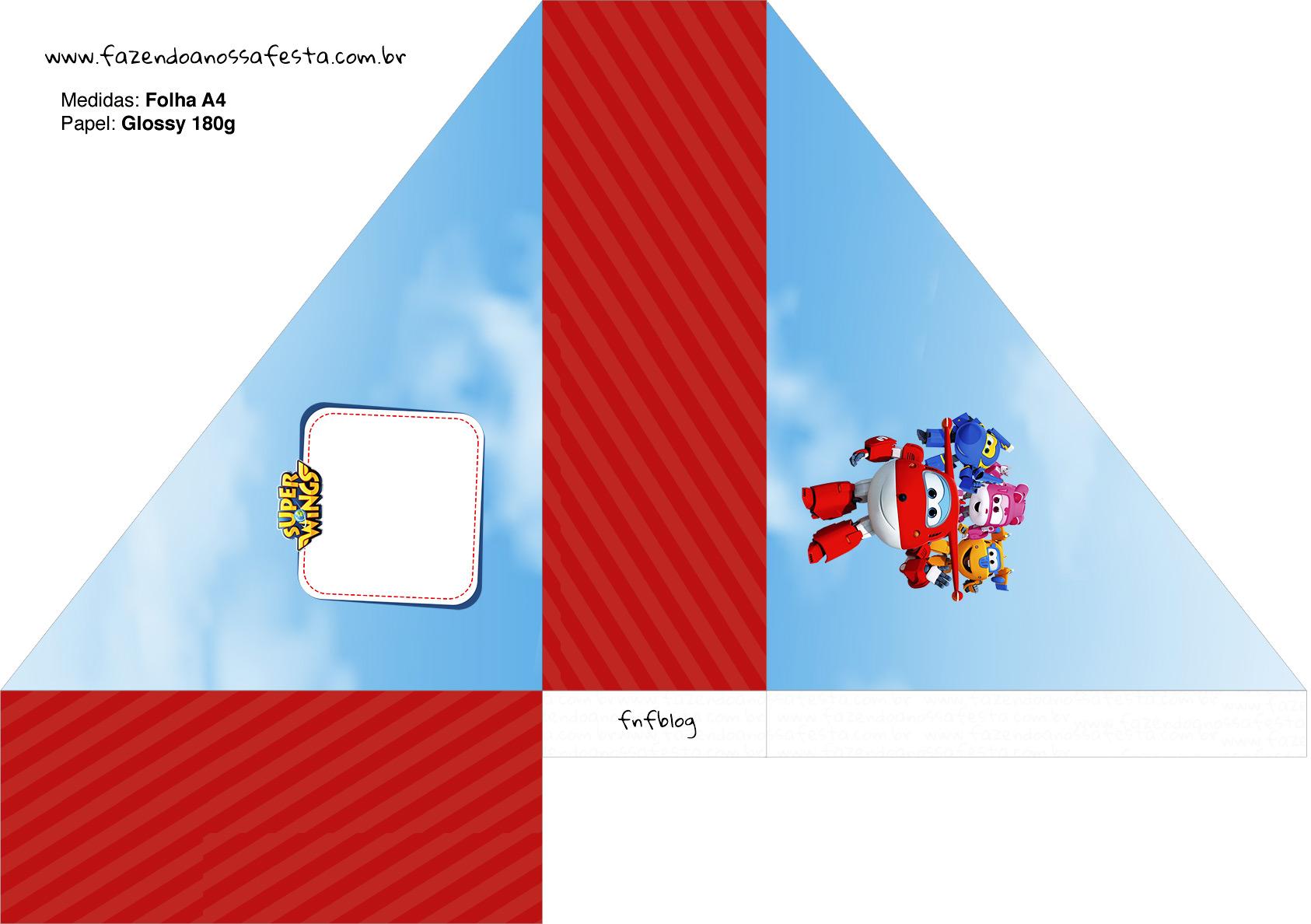 Porta Guardanapos Super Wings