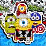 Quebra-cabeça Minions Super-Heróis