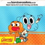 Rótulo Batom Garoto o Incrível Mundo de Gumball
