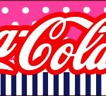 Rótulo Coca-cola Menina Marinheira Loira
