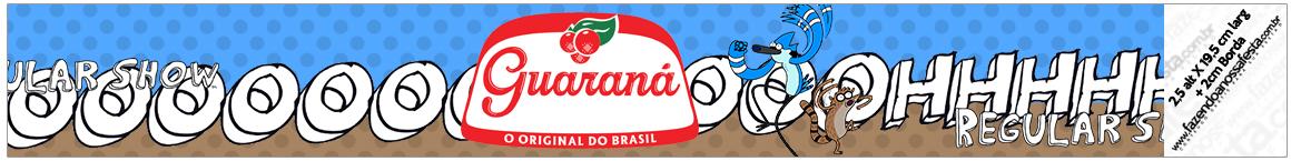 Rótulo Guaraná Caçulinha Apenas um Show