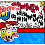 Rótulo Toddynho Minions Super-Heróis