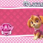 Revista Colorindo Patrulha Canina para Meninas
