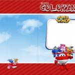 Revista Colorindo Super Wings