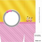 Sacolinha Lembrancinha 2 Minions para Meninas - Parte 1 A4