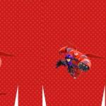 Sacolinha Surpresa 2 Big Hero - Folha A3