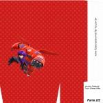 Sacolinha Surpresa 2 Big Hero - Folha A4 Parte 2