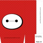 Sacolinha Surpresa 3 Big Hero - Folha A4 Parte 1
