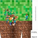 Sacolinha Surpresa Minecraft 3 - A4 Parte 1