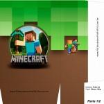 Sacolinha Surpresa Minecraft 5 - A4 Parte 1