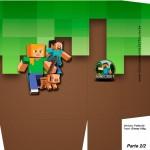 Sacolinha Surpresa Minecraft 5 - A4 Parte 2