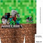 Sacolinha Surpresa Minecraft A4 - Parte 1