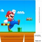 Sacolinha Surpresa Super Mario A4 - Parte 1