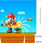 Sacolinha Surpresa Super Mario Bola de Fogo A4 - Parte 1