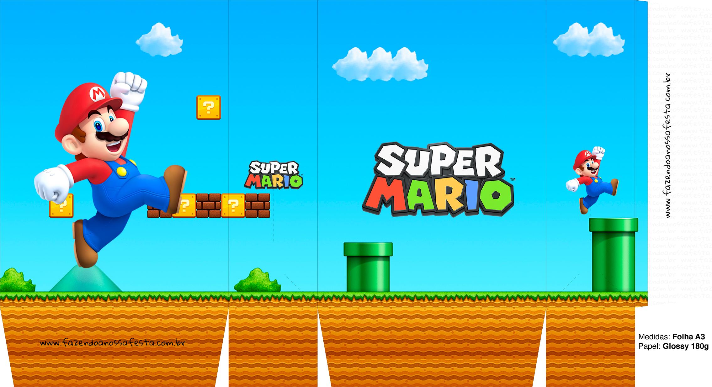Sacolinha Surpresa Super Mario