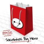 Sacolinha Surpresa Big Hero – Grátis para Imprimir