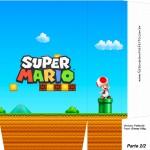 Sacolinhas Lembrancinha Super Mario Toad A4 - Parte 2