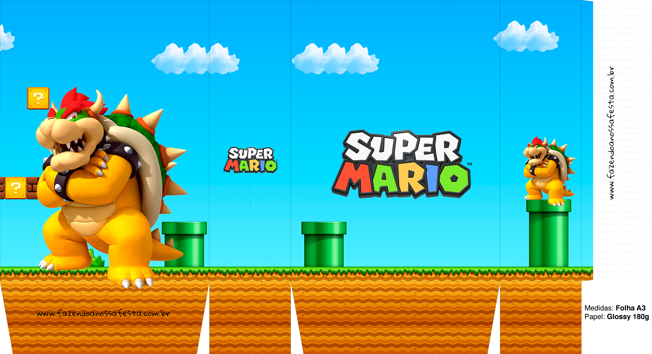 Sacolinhas Surpresa Super Mario Browser A3