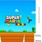 Sacolinhas Surpresa Super Mario Luigi A4 - Parte 2