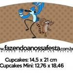 Saias Wrappers para Cupcakes 2 Apenas um Show