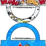 Saquinho de Balas Bolsinha Minions Super-Heróis