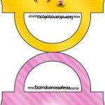 Saquinho de Balas Bolsinha Minions para Meninas