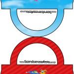 Saquinho de Balas Bolsinha Super Wings