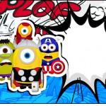Squezze Minions Super-Heróis