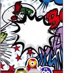 Tag Agradecimento Minions Super-Heróis