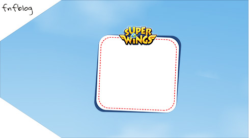 Tag pequena Super Wings