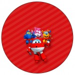 Toppers, Latinhas tema Super Wings