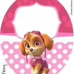 Tubete Oval Patrulha Canina para Meninas