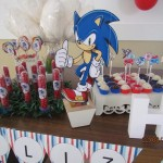 Tubetes, Toppers e Pirulitos Festa Sonic do Henrique