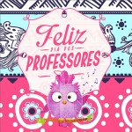 Aromatizador de Ambiente Dia Dos Professores Coruja Rosa e Azul