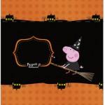Bala personalizada Peppa Pig Halloween
