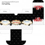 Baleiro Kit Festa Las Vegas Poker